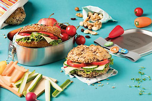 Neue Rezepte-Sammlung von GOURMET Kids macht Lust auf eine gesunde Jause und den verantwortungsvollen Umgang mit Lebensmitteln.
