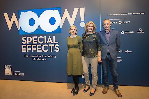 https://www.apa-fotoservice.at/galerie/20639 Im Bild v.l.n.r.: Mag. Bernadette Decristoforo, Projektleitung TMW; Dr. Gabriele Zuna-Kratky, Generaldirektorin TMW; Dr. Otmar Moritsch, Bereichsleiter TMW