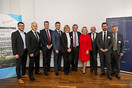 Gruppenfoto Speaker: Business Breakfast Belarus – Das Potential des Great Stone Industrial Park