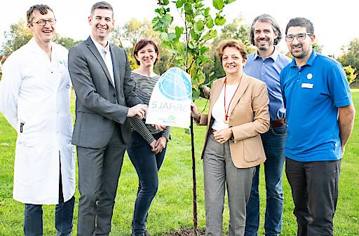 Im Lebens.Med Zentrum Bad Erlach wurde das fünfjährige Bestehen des Gesundheitszentrums gefeiert.