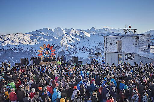 Rave on Snow 2018
