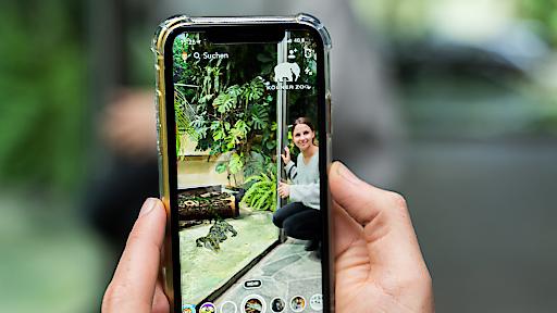"""Snapchat und der Kölner Zoo machen sich mit Augmented Reality für Artenvielfalt stark / Ohne entsprechende Schutzprojekte von Zoos und anderen Institutionen wären die Philippinenkrokodile schon bald in freier Wildbahn ausgestorben - und nur noch in Zoos oder der digitalen Welt erlebbar. Weiterer Text über ots und www.presseportal.de/nr/135117 / Die Verwendung dieses Bildes ist für redaktionelle Zwecke honorarfrei. Veröffentlichung bitte unter Quellenangabe: """"obs/Snapchat/"""""""