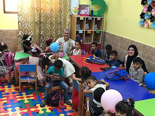 Vorschulklasse Jordanien