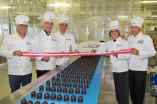 Eröffnung neuen Zubau der Produktionsstätte von Niemetz Schwedenbomben