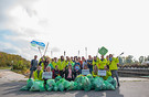 Kooperation GLOBAL 2000 und HOFER: Heute gemeinsamer Donau Clean-Up Day
