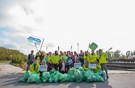 Kooperation GLOBAL 2000 und HOFER: Heute gemeinsamer Donau Clean-Up Day