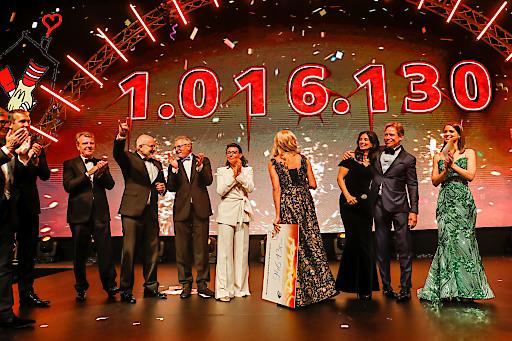 Rekord-Spende bei der Ronald McDonald Kinderhilfe Gala 2019