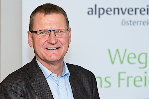 Alpenvereinspräsident Dr. Andreas Ermacora