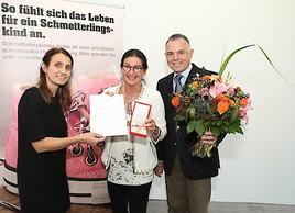 Dr. Gabriele Pohla-Gubo erhält Goldenes Verdienstzeichen der Republik Österreich