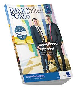 Immofinanz reloaded in der neuen ImmoFokus-Herbstausgabe