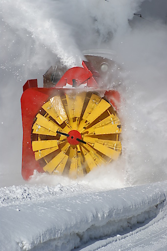 Schneeschleuder Rhätische Bahn