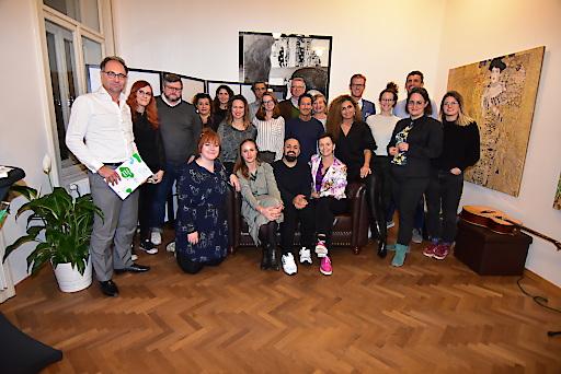 """Der Traumrat der bz-Initiative """"Träum dein Wien"""""""