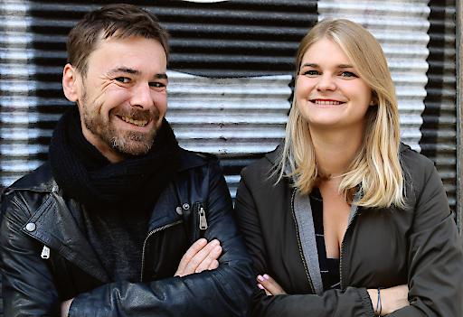 FAD-Gründer Florian Neumann und Martina Hundstorfer
