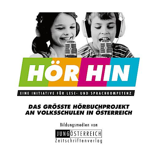 """""""HÖR HIN"""" ist eine Initiative für Lese- und Sprachkompetenz von JUNGÖSTERREICH"""