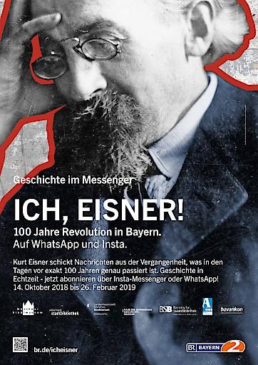 """""""New Media Journalism Award"""" geht an Messenger-Projekt """"Ich, Eisner!"""" des Bayerischen Rundfunks (BR)"""