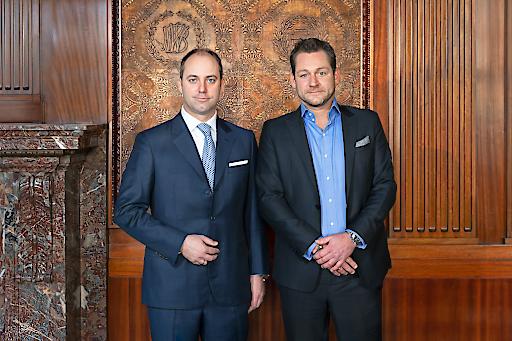 Markus Schafferer (li.), Geschäftsführender Gesellschafter PEMA Holding und Patrick Schild (re.), Head of Agency & Sector Office bei CBRE Austria