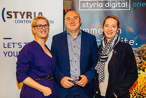 Nicola Dietrich (sd one / SCC), Martin Bredl (Take Off PR), Xenia Daum (sd one / SCC)