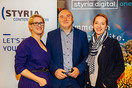 One Jump Ahead mit styria digital one, Styria Content Creation und Take Off PR in Linz
