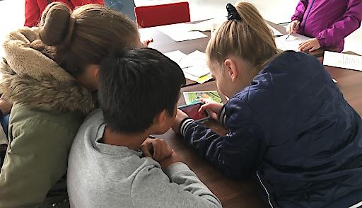 Spieler beim Science Weekend, 5 Oktober 2019 in Leeuwarden, Niederlande