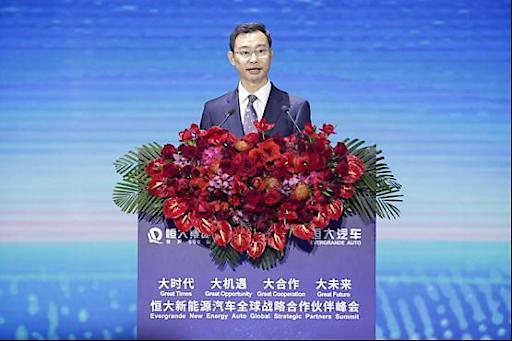 Am 12. November hielt der Bürgermeister von Guangzhou, Wen Guohui, eine Rede auf dem Gipfel.
