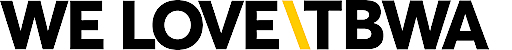 Logo WE LOVE\TBWA