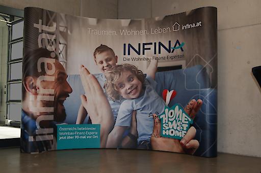 Die Wohnbau-Finanz-Experten stellten bei diesem Event ihren neuen Markenauftritt vor.