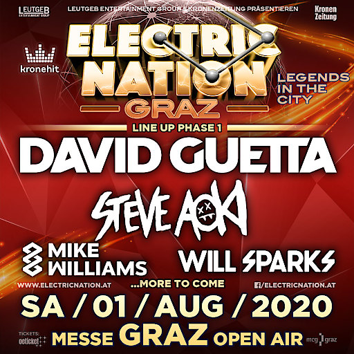 Kronehit Electric Nation Graz 2020