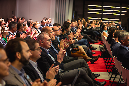 Rund 130 Expertinnen und Experten der österreichischen Immobilienbranche besuchten den ImmoTalk 2019 im PwC-Headquarter im Wiener DC Tower.