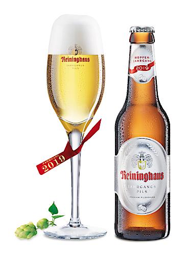 Reininghaus Jahrgangspils 2019: das Gourmetbier überzeugt als Charakterpils auch bei höchsten Ansprüchen