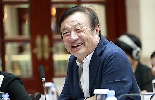 """Huawei-Gründer Ren Zhengfei: """"Die US-Sanktionen haben uns daran erinnert, dass wir nicht selbstgefällig sein dürfen."""""""
