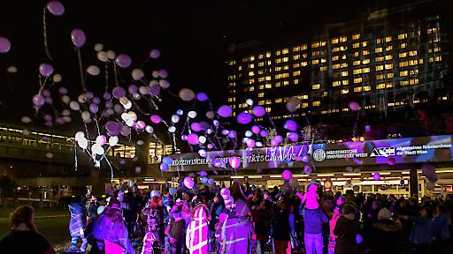 Fest für Frühgeborene an der Medizinischen Universität Wien bzw. AKH Wien