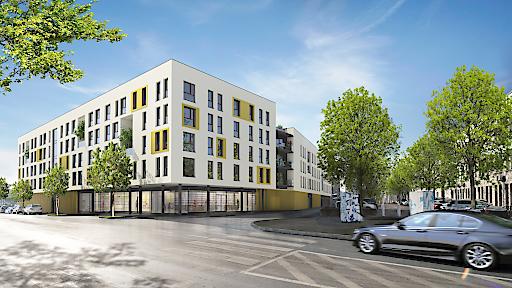 """Mit """"City SUITES Graz"""" schafft die IFA AG 100 Neubauwohnungen sowie 4 Geschäftslokale und realisiert ein nachhaltig ertragreiches Investment für Anleger."""