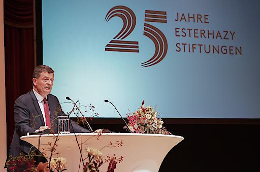 25 Jahre Esterhazy Stiftungen Festrede Dr. Stefan Ottrubay(c)Andreas Tischler