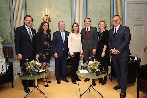 Podiumsdiskussion mit Fazekas, Rusz, Molterer, Komarek, Dörfler, Salomon, Rucker(c)Andreas Tischler