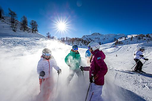 Perfekte Tage in der Vorweihnachtszeit in der Salzburger Sportwelt