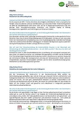 Die UN-Kinderrechtskonvention feiert 30-jähriges Jubiläum