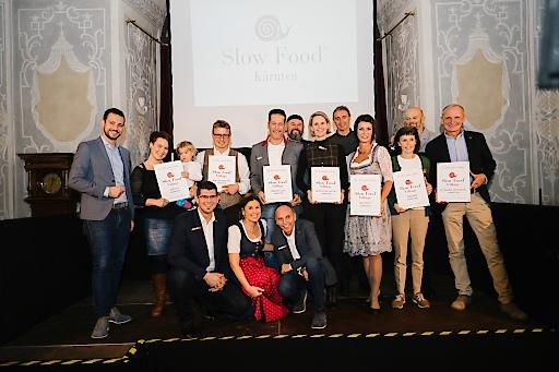 Verleihung der ersten Slow Food Villages