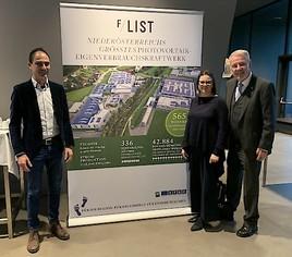F/LIST investiert 1,2 Millionen Euro in Niederösterreichs größtes Photovoltaik-Eigenverbrauchskraftwerk