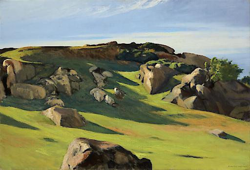 Edward Hopper: EDWARD HOPPER, CAPE ANN GRANITE, 1928