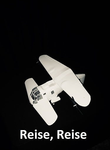 DUAFLY Flugtaxi in Reiseflug Konfiguration