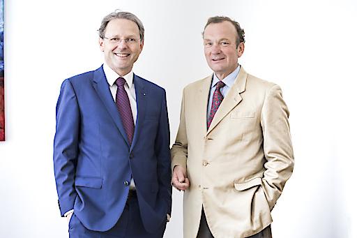 Dr. Karl Derfler und Franz Helbich, geschäftsführende Gesellschafter von ADEQAT.