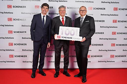 DB Schenker feiert 100-jähriges Jubiläum in Kärnten & 50 Jahre in Klagenfurt