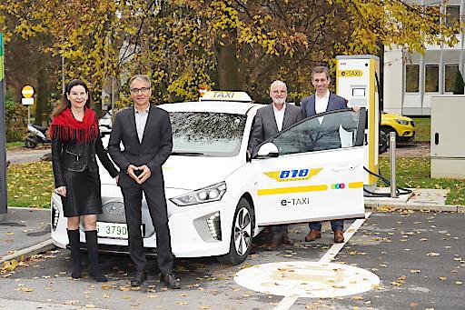 E-Taxi Kooperation Energie Graz