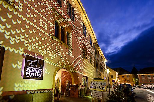 Stimmungsvolle Kulisse für das Adventdorf am historischen Bad Radkersburger Hauptplatz