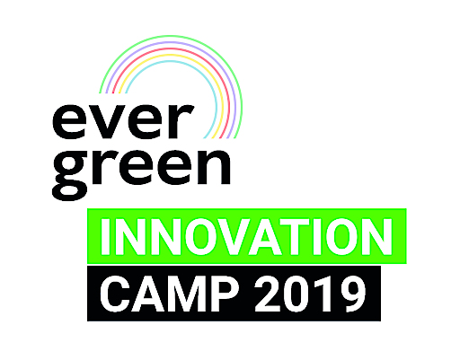LOGO des Evergreen Innovation Camps