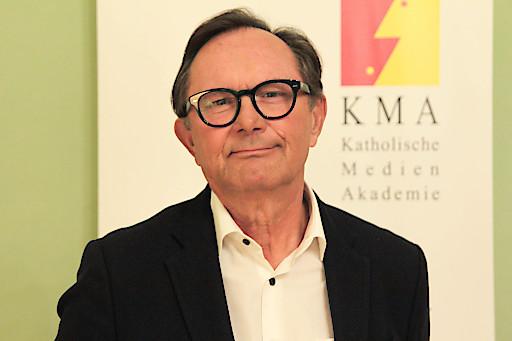 Portrait Gerhard Klein, neuer Journalistischer der Katholischen Medien Akademie (KMA).