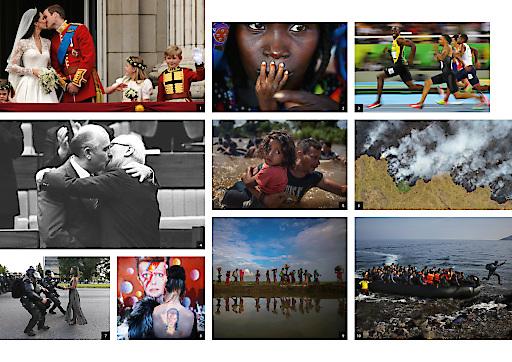 Fotocollage: 1 Dylan Martinez /REUTERS/picturedesk.com 2 Finbarr O'Reilly /REUTERS/picturedesk.com 3 Kai Pfaffenbach /REUTERS/picturedesk.com 4 Stringer /REUTERS/picturedesk.com 5 Adrees Latif /REUTERS/picturedesk.com 6 Ueslei Marcelino /REUTERS/picturedesk.com 7 Jonathan Bachman /REUTERS/picturedesk.com 8 Stefan Wermuth /REUTERS/picturedesk.com 9 Hannah Mckay /REUTERS/picturedesk.com 10 Yannis Behrakis /REUTERS/picturedesk.com