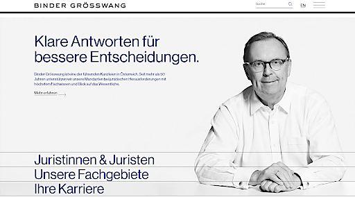 Startseite www.bindergroesswang.at