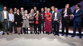 Über 550 Gäste feiern innovative europäische Politik in Berlin