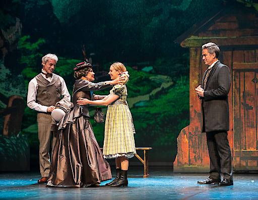 Mittwoch abend feierte das Musical Heidi in Wien eine viel bejubelte Premiere.